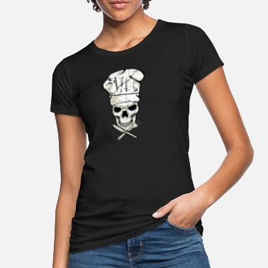 Parrillero Skull Chef Griller Hobby Chef Chef - Camiseta orgánica mujer