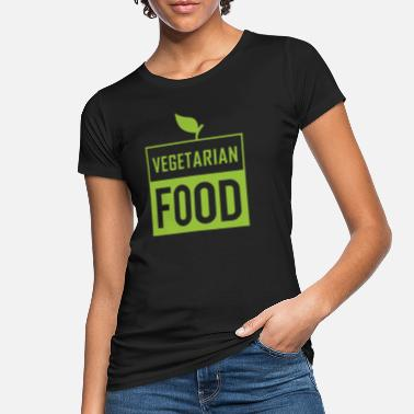 Vegetarier Vegan Bio vegetarisch Fleisch von toten Tieren Damen T-Shirt