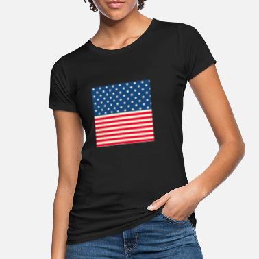 Stars And Stripes Stars and stripes - Women's Organic T-Shirt