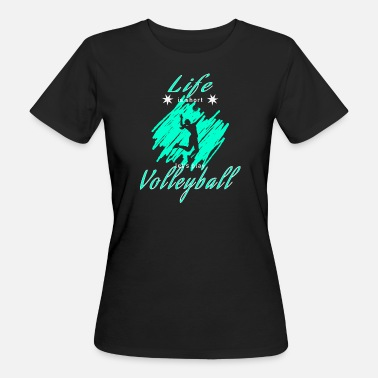 Match De Volley volley volley - T-shirt bio Femme