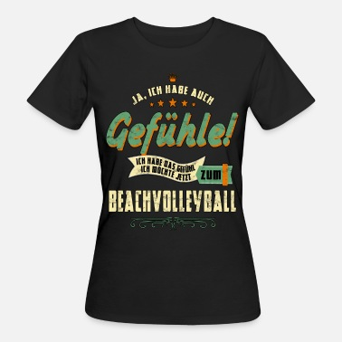 Volley Beach Volleyball Beach Volleyball Sport Volleyball Beach Volley - Women's Organic T-Shirt