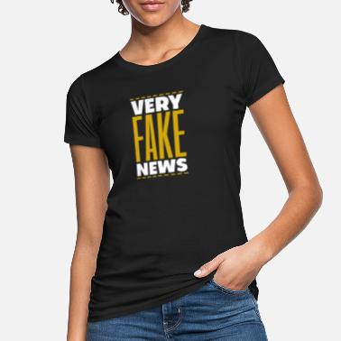 Noticias Noticias de noticias falsas falsas - Camiseta orgánica mujer