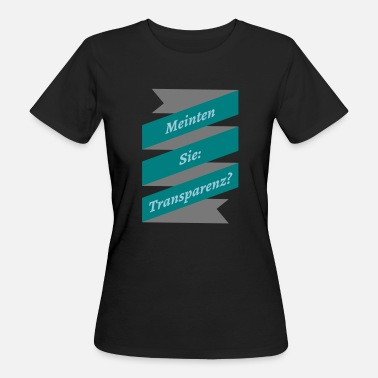 Transparent transparency - Women's Organic T-Shirt