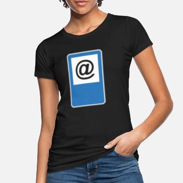 Road Sign Road sign at - Women's Organic T-Shirt