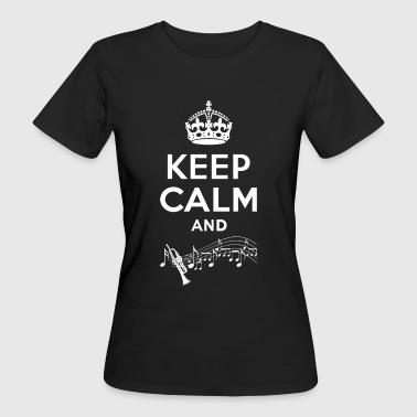 Keep Calm - Trompete - Vrouwen Bio-T-shirt