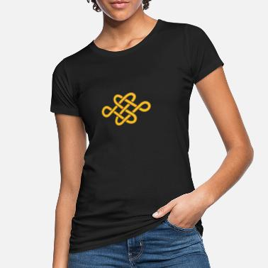 Buddhism endless knot - Women's Organic T-Shirt