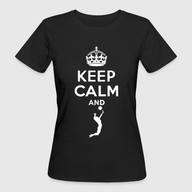 Keep Calm - Volleyball - T-shirt ecologica da donna