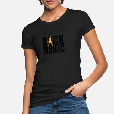 Rock Music rock music - Frauen Bio T-Shirt