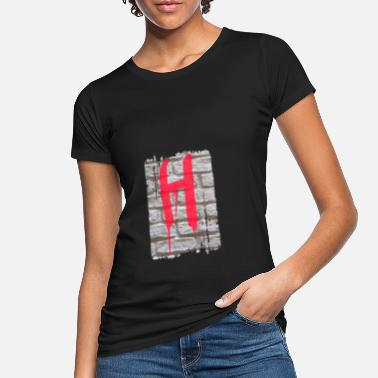 Name mauer h - Frauen Bio T-Shirt