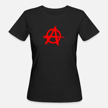 Anarchie anarchie - Vrouwen Bio-T-shirt