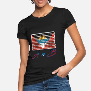 Antigua Antigua and Barbuda - Women's Organic T-Shirt