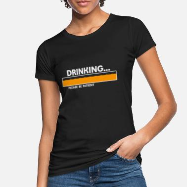 Parties Party time - Women's Organic T-Shirt