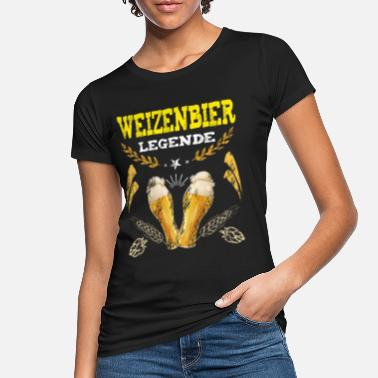 Weizenbier Weizenbier Legende Fun Bier Biertrinker Party - Frauen Bio T-Shirt