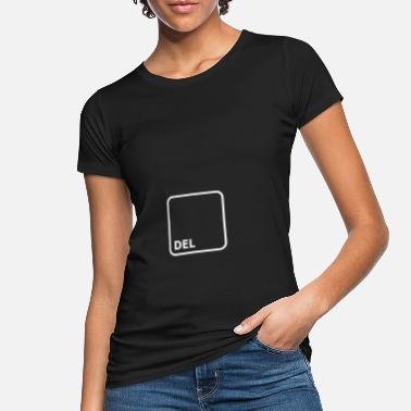 Key DEL button Delete button - Women's Organic T-Shirt