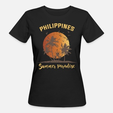 Southeast Asia Philippines summer Southeast Asia - Women's Organic T-Shirt