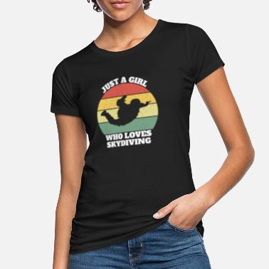 Biathlon Skydiving skydiving - Women's Organic T-Shirt