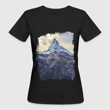 Berge & Diamonds - Frauen Bio-T-Shirt
