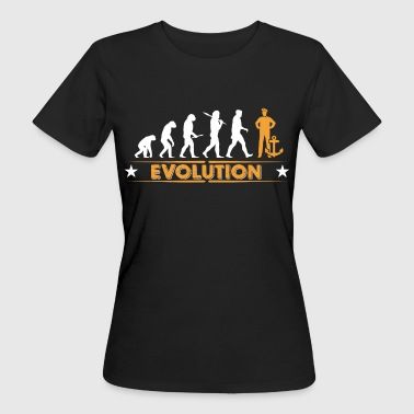 Matrose - Anker - Evolution - Frauen Bio-T-Shirt