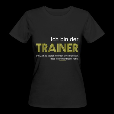Trainer T-Shirt - Frauen Bio-T-Shirt