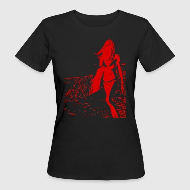 surfergal - Women's Organic T-shirt