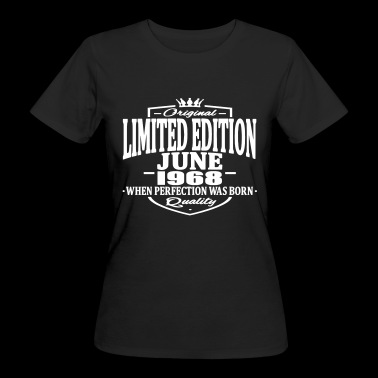 Limited edition june 1968 - Women's Organic T-shirt