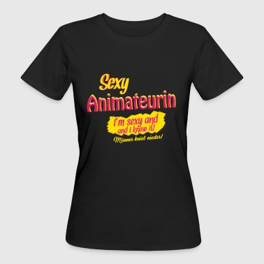 Sexy Animateurin T-Shirt - Frauen Bio-T-Shirt