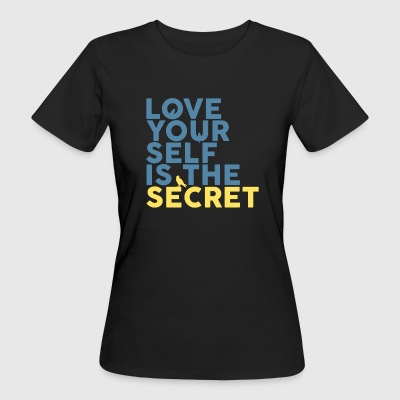 The Secret Is Love själv - Ekologisk T-shirt dam
