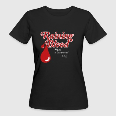 Camisa Raining Blood de Slayer - Camiseta ecológica mujer