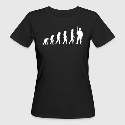 Evolution Soldier - Soldiers T-Shirt! - Women's Organic T-shirt