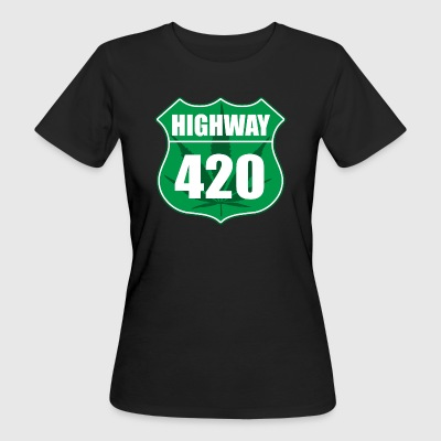 Highway 420 - Women's Organic T-shirt