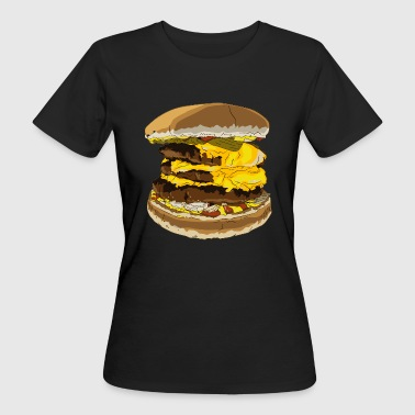 cheeseburger giant - Vrouwen Bio-T-shirt