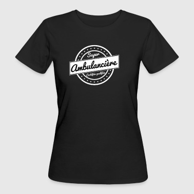 Super-Ambulanz - weiß - Frauen Bio-T-Shirt
