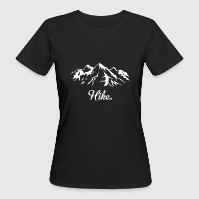 hike - Women's Organic T-shirt