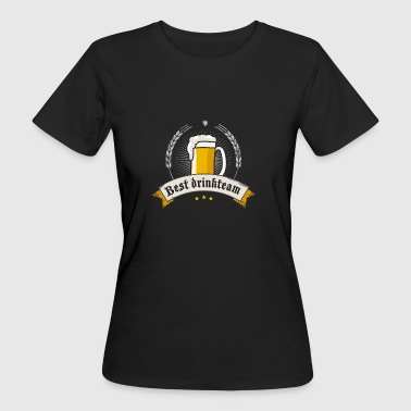 drinkteam Bier brauen Humpen Craft Beer Hopfen lol - Frauen Bio-T-Shirt