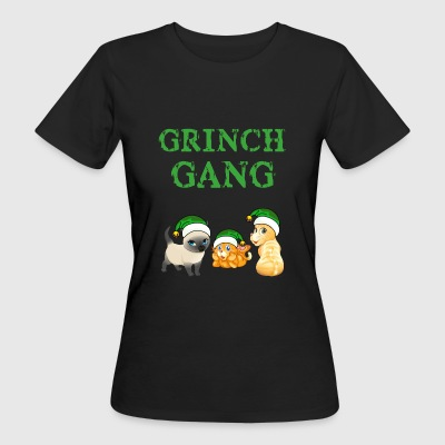 Grinch cat gear Christmas - Women's Organic T-shirt