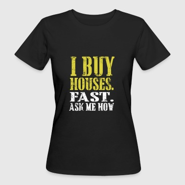 Agents immobiliers - T-shirt Bio Femme