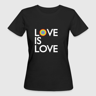 Love is Love - LGBT T-Shirt - Frauen Bio-T-Shirt