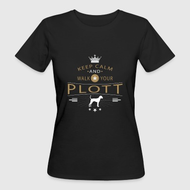 Plott Hound Shirt - Frauen Bio-T-Shirt
