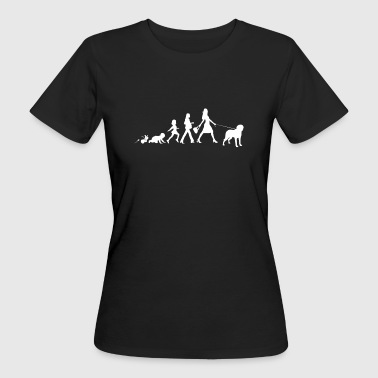 Chesapeake Bay Retriever Gifts Grow Evolution - T-shirt ecologica da donna