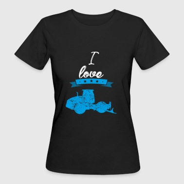 I love Asphalt Pavers Gift I love - Women's Organic T-shirt