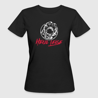 MALINOIS heul leise - Frauen Bio-T-Shirt