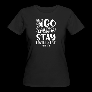 Where do you want to go? - Women's Organic T-shirt