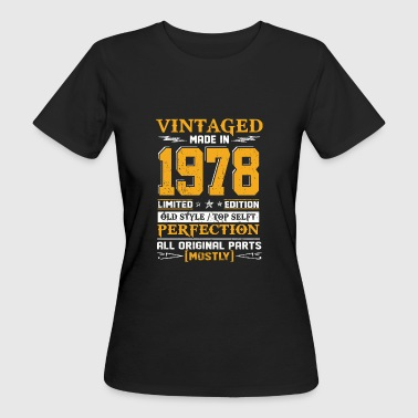 Vintaged Made In 1978 Limited Editon - Vrouwen Bio-T-shirt