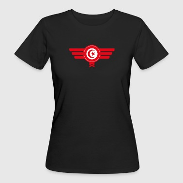 Tunisia emblem flag - Women's Organic T-shirt