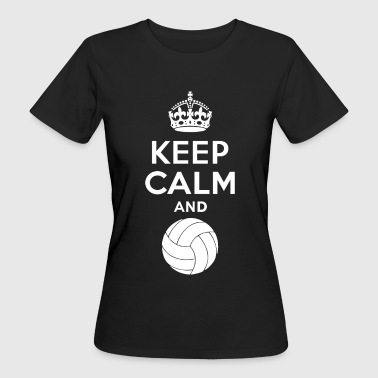 Keep Calm - Volleyball 2 - T-shirt ecologica da donna