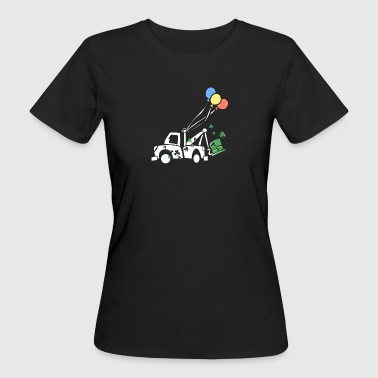 Kids St Patricks Day Truck and Balloon - Women's Organic T-shirt