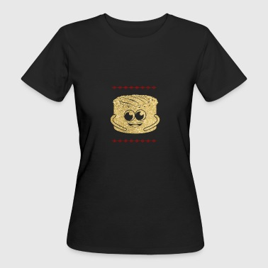 Goldener Käsekuchen Cheesecake - Frauen Bio-T-Shirt