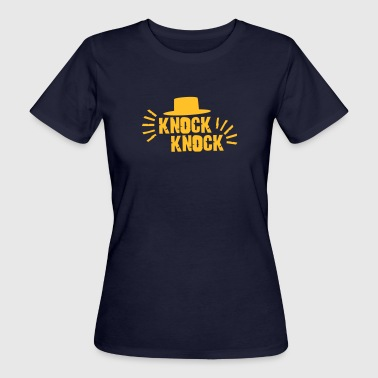 Knock Knock with hat - Women's Organic T-shirt
