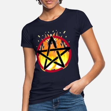 9285985ca6 Satan Symbols Pentagram Satanism horror Satan symbols - Women's Organic  T-. Women's Organic ...