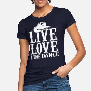 "Western Cowboy LINEDANCE T-shirt /""Love MUSICA COUNTRY/"" 3xl MISURE GRANDI NUOVO"